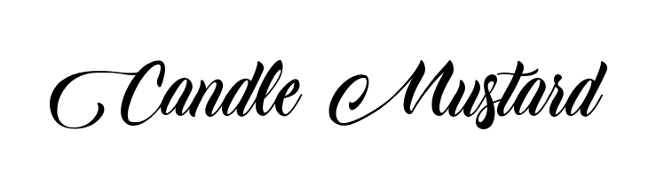 Candle Mustard  Free Fonts Download