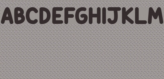 Candy Beans Font examples