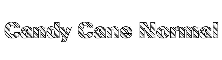 Candy Cane Normal  नि: शुल्क फ़ॉन्ट्स डाउनलोड
