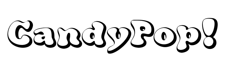 CandyPop!  Free Fonts Download