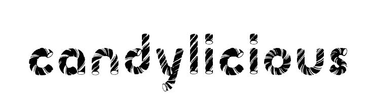 Candylicious  नि: शुल्क फ़ॉन्ट्स डाउनलोड