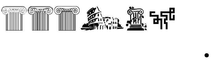 CapitalisTypOasisMedium Font OTHER CHARS