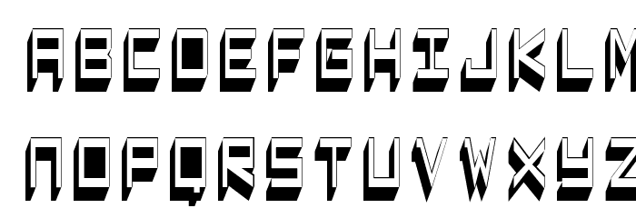 Captain Lethargic Font LOWERCASE