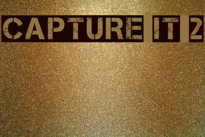 Capture it 2 Fonte examples