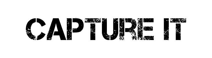 Capture it Font
