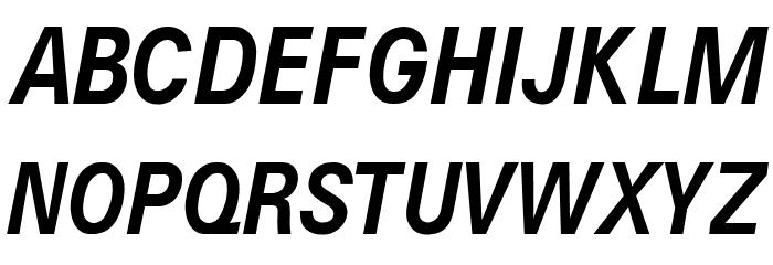 Caracteres L4 Font UPPERCASE