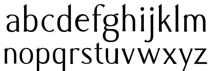 Caramella Font Litere mici