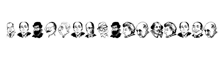 CaricaturesHeads  baixar fontes gratis
