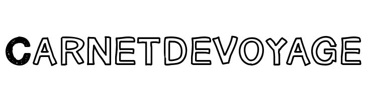 Carnetdevoyage  font caratteri gratis