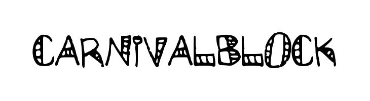 CarnivalBlock  les polices de caractères gratuit télécharger