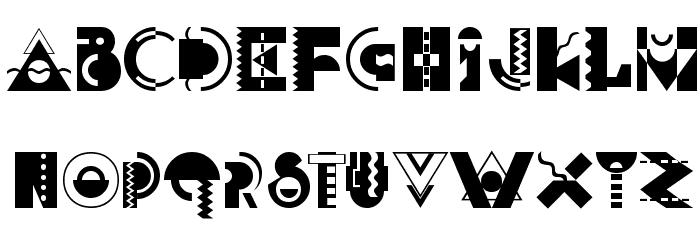 Carnivale Font Litere mari