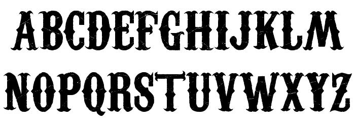 Carnivalee Freakshow Font LOWERCASE