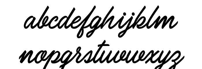 Carolina Mountains Personal Use Шрифта строчной