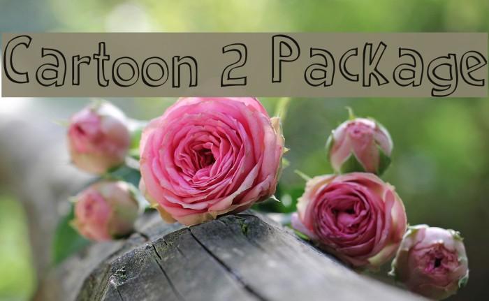 Download Cartoon 2 Package Font - FFonts.net