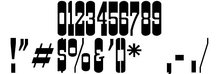 Cartwright Regular Font OTHER CHARS