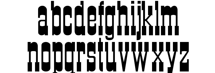 Cartwright Regular Font Litere mici