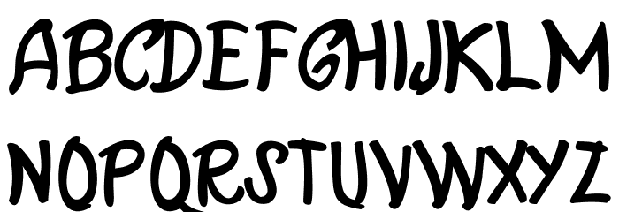 Casablanca Font UPPERCASE