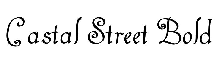 Castal Street Bold  नि: शुल्क फ़ॉन्ट्स डाउनलोड
