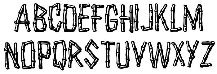 Castaway Font UPPERCASE