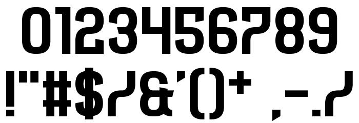 Castforce Font OTHER CHARS