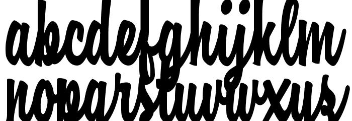 Casual Chance Personal Use  Font LOWERCASE