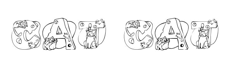 Cat Cat Font