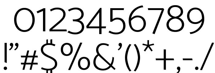 Catamaran ExtraLight Font OTHER CHARS