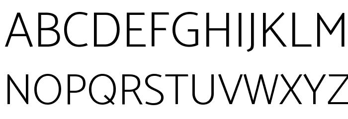 Catamaran ExtraLight Font UPPERCASE