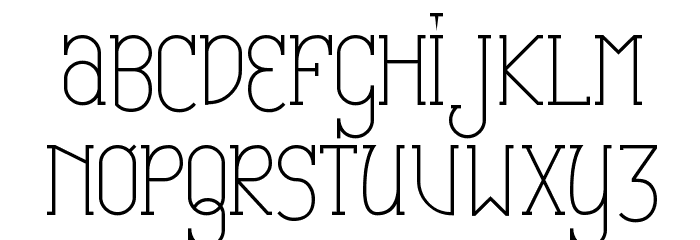 Catharsis Espresso Font UPPERCASE