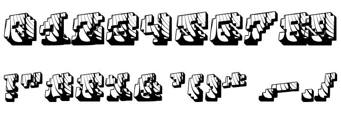 Cauterise 字体 其它煤焦