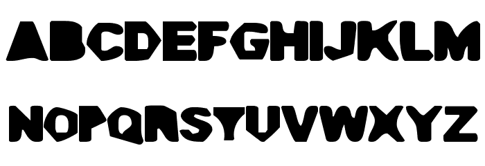 Cave Gyrl Font UPPERCASE