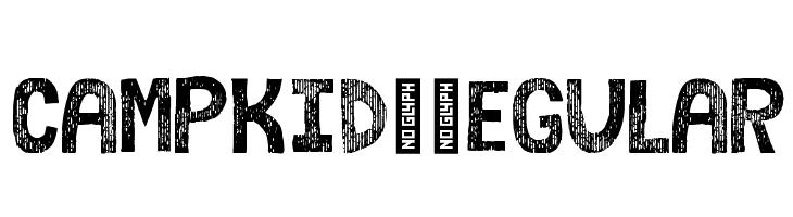 campkid-Regular  Free Fonts Download