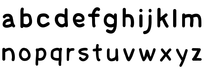 Cecily Font LOWERCASE