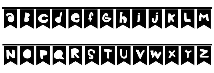 Celebration Font LOWERCASE