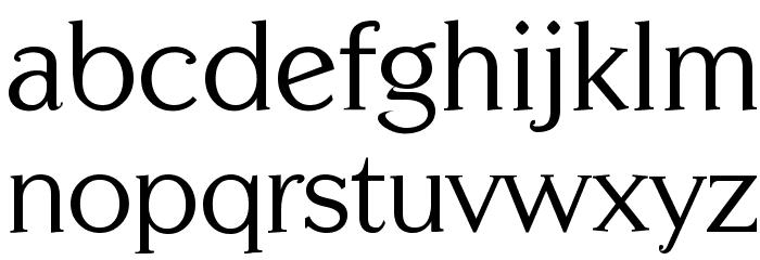Centabel Book Font Litere mici