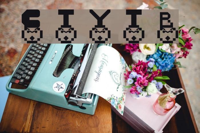 Cesur Type Yaz1 Tipi Regular Font examples