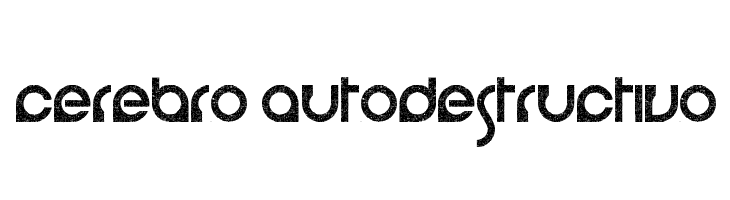 cerebro autodestructivo  Free Fonts Download