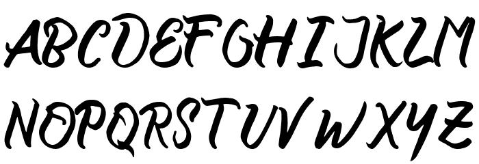 certain Bold Schriftart Groß