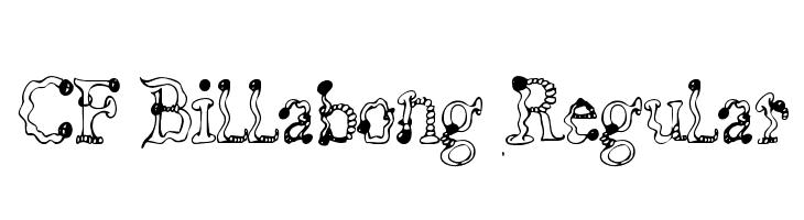 CF Billabong Regular  لخطوط تنزيل