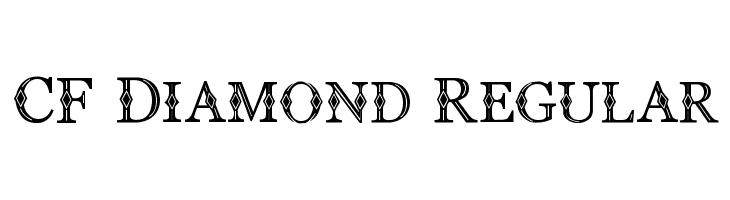 CF Diamond Regular Font