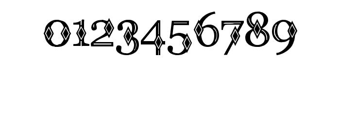 CF Diamond Regular Font OTHER CHARS