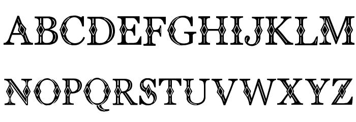 CF Diamond Regular Font LOWERCASE