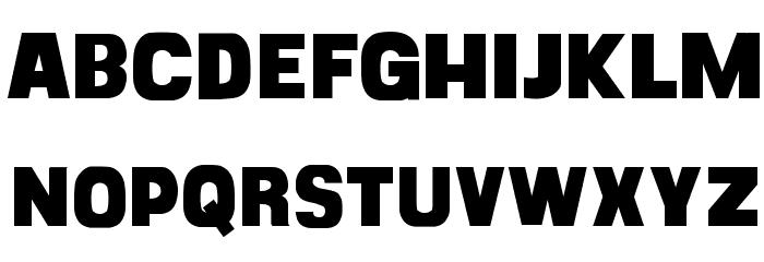 CF Goliath Demo Regular Font UPPERCASE