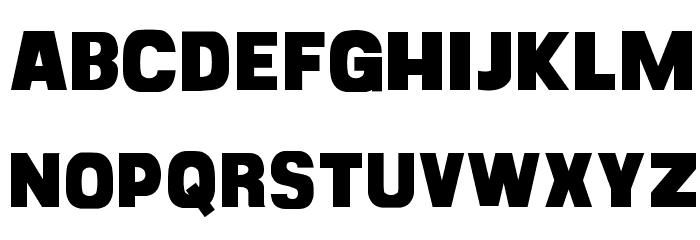 CF Goliath Demo Regular Font LOWERCASE