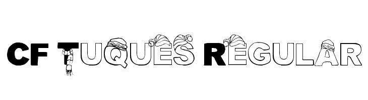 CF Tuques Regular  Free Fonts Download