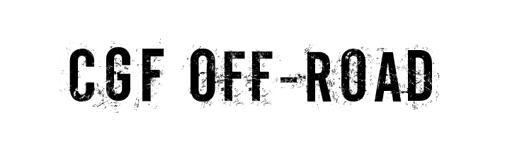 CGF Off-Road  Free Fonts Download