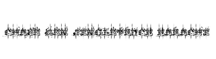 CHASE ZEN JINGLETRUCK KARACHI  font caratteri gratis