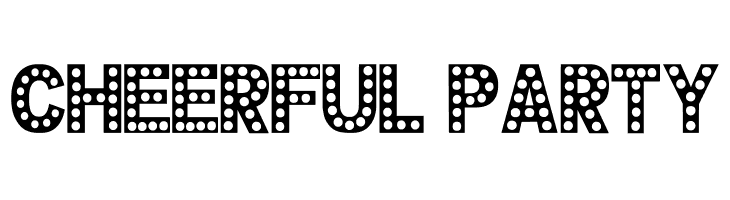 CHEERFUL PARTY  Free Fonts Download