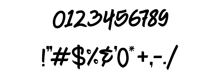 Chagack Personal Use Regular Font OTHER CHARS