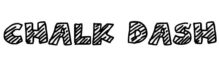Chalk Dash  Free Fonts Download
